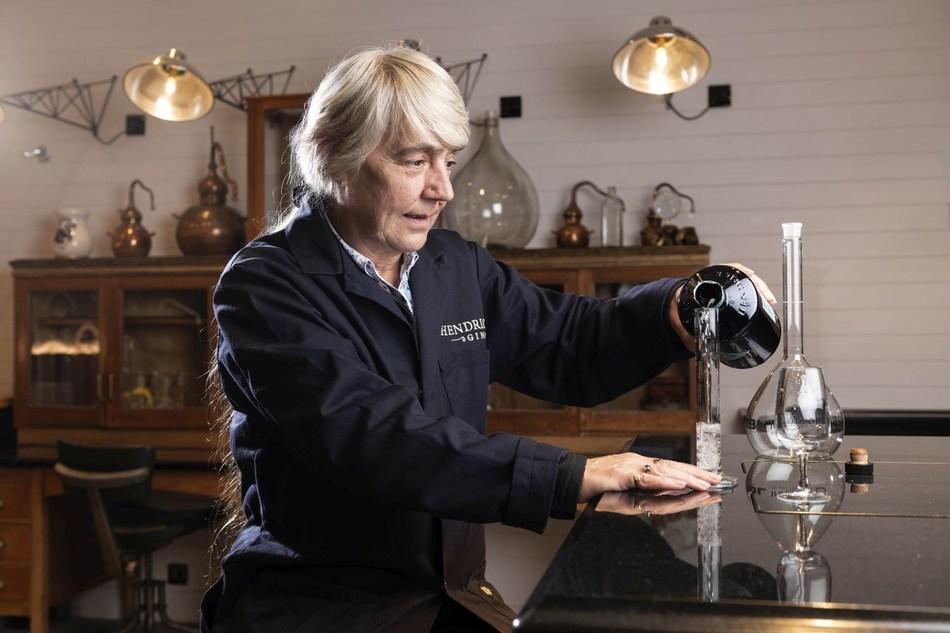 Lesley Gracie- Master Distiller, Hendrick's (PRNewsfoto/William Grant & Sons)