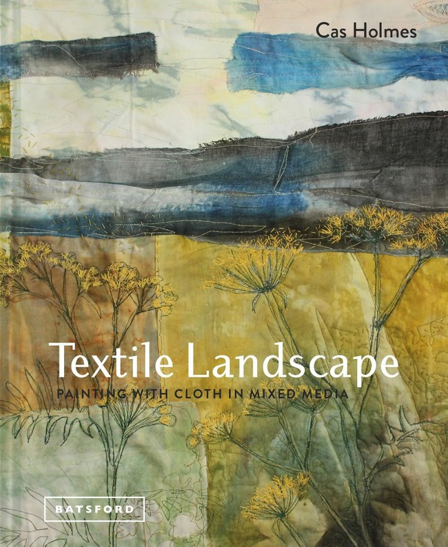 Cover image - Textile Landscape, Painting with cloth in mixed media (PRNewsfoto/The Kubota Collection)