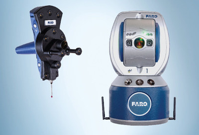 FARO Vantage S6 with 6Probe provides enhanced probing with 6 Degrees of Freedom (6DoF).
