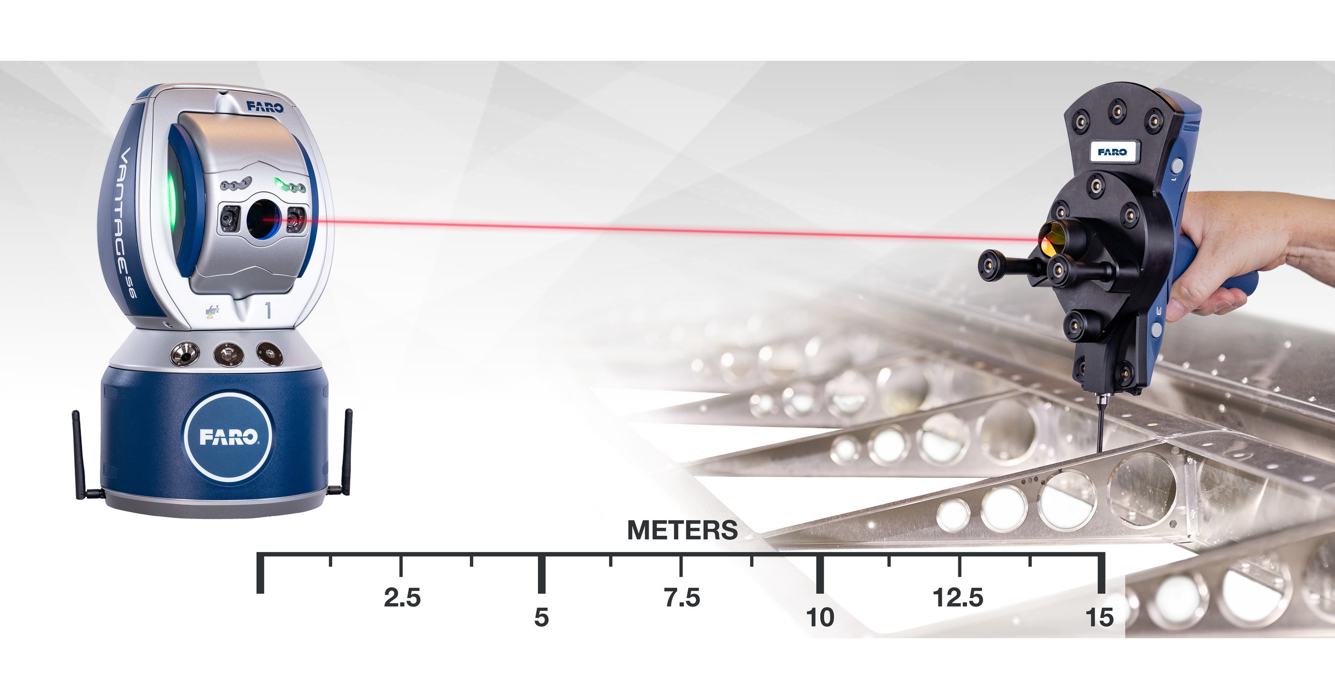 Faro Introduces New 6dof Laser Tracker Platform