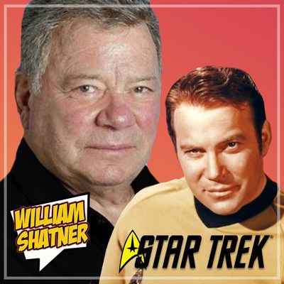 WILLIAM SHATNER AT GAMER COMIC EXPO IN MIAMI
