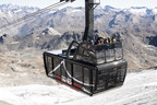 Inauguration in Tignes of the World's Largest and Highest Open-top Aerial Tramway at an Altitude of More Than 3,000m