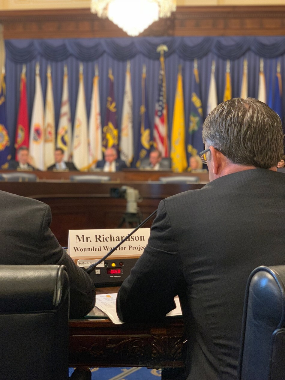 Wounded Warrior Project testified before the House Committee on Veterans Affairs as part of its ongoing suicide prevention advocacy efforts with our nation's leaders.