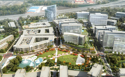 Monarch City, a 238-acre mixed-use development in Allen, Texas by The Howard Hughes Corporation.