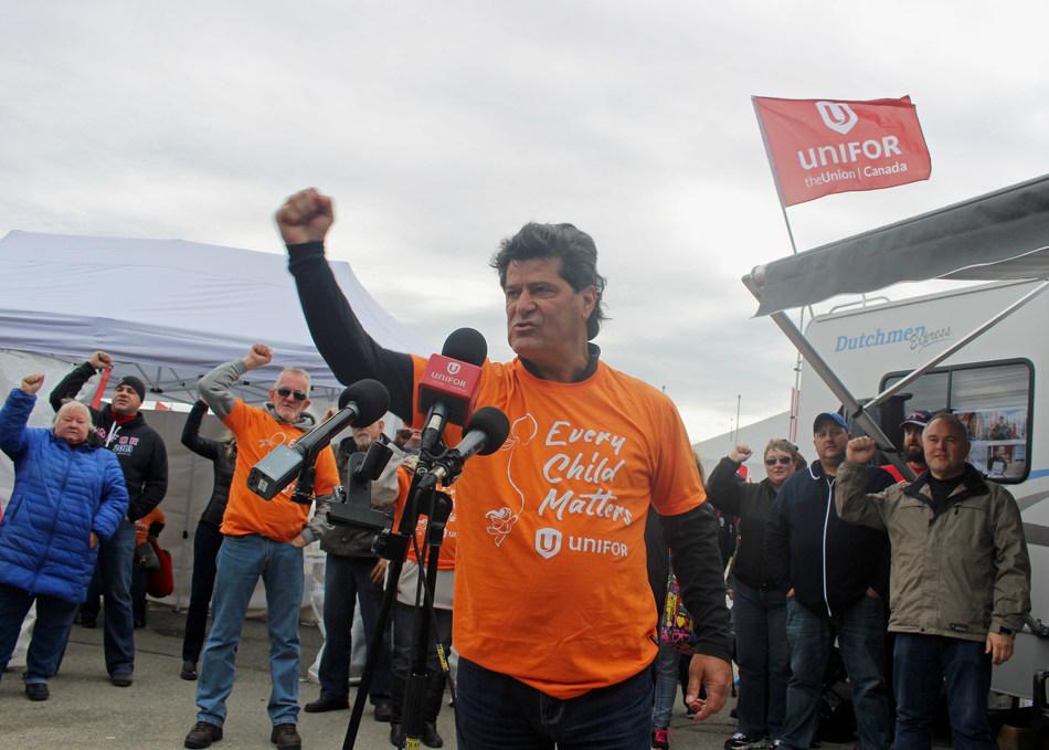 Jerry Dias, Unifor National President (CNW Group/Unifor)
