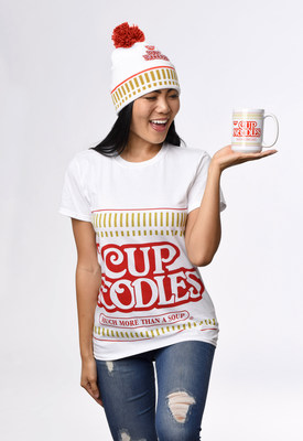 Nissin Foods launches its first online merchandise store to help fans celebrate their love for Cup Noodles and Top Ramen  – just in time to gear up for National Noodle Day on Saturday, October 6.