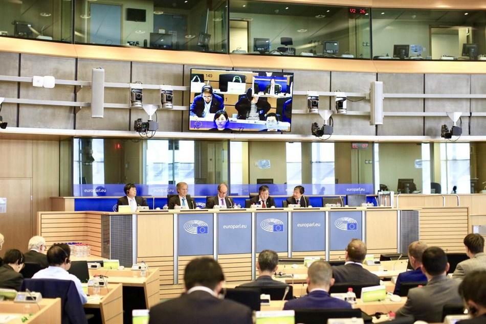 2018 World Green Design Forum Brussels Summit held in European Parliament building