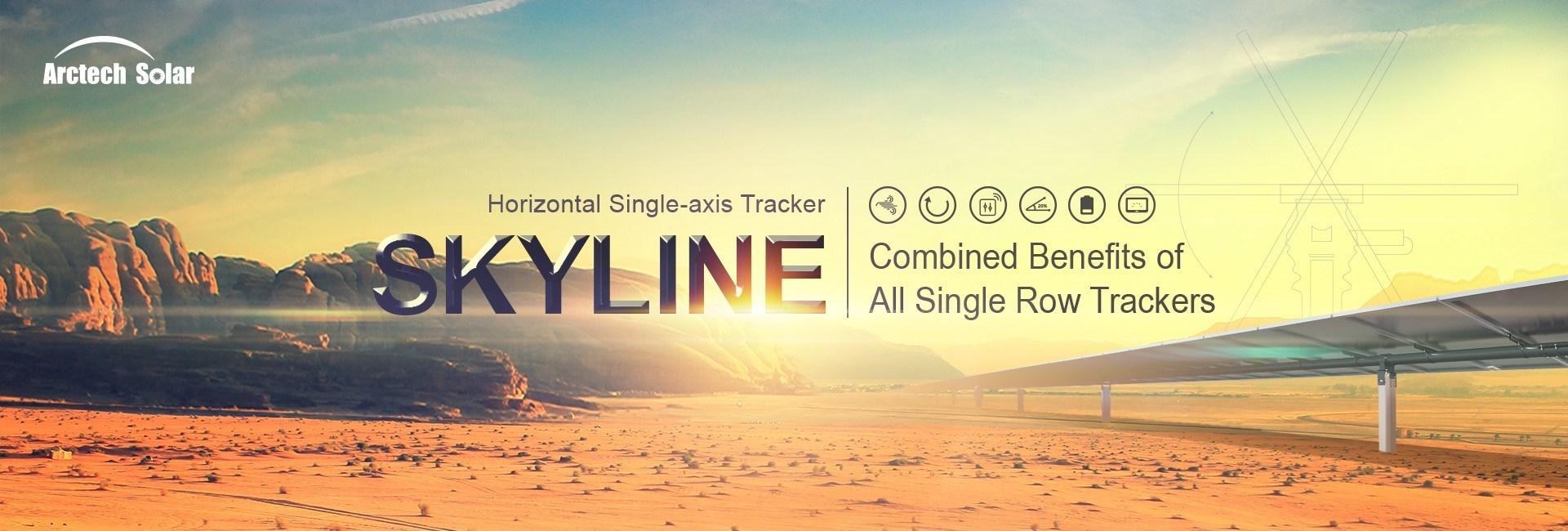 Arctech Solar's Skyline Tracking System
