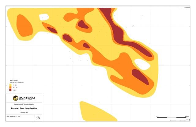 Bonterra Resources BTR:TSX-V / Oct.1.2018 / News Release A3 Footwall (CNW Group/Bonterra Resources Inc.)