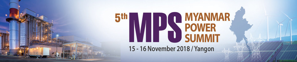 5th Myanmar Power Summit 15-16 Nov 2018 (PRNewsfoto/Centre for Management Technolog)