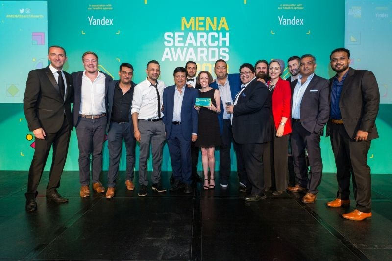 Nexa Team at Mena Search Awards (PRNewsfoto/Nexa)