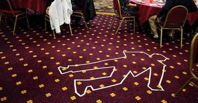 Warriors attend mystery murder dinner show. Photo courtesy of Dinner Detective Mystery Dinner Show