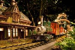 The Holiday Train Show® at The New York Botanical Garden. Photo Robert Benson Photography.