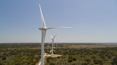 Goldwind's 160 MW Rattlesnake Wind Project, McCulloch County, Texas