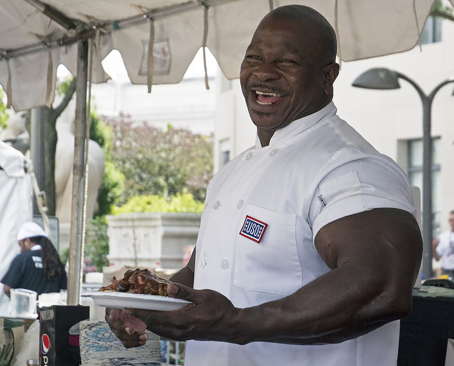 White House Chef And Combat Veteran Andre Rush Has Signed A