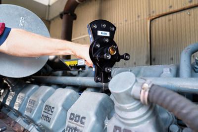 O VantageS6 com 6Probe é ideal para medições em áreas de difícil acesso de grandes máquinas.
