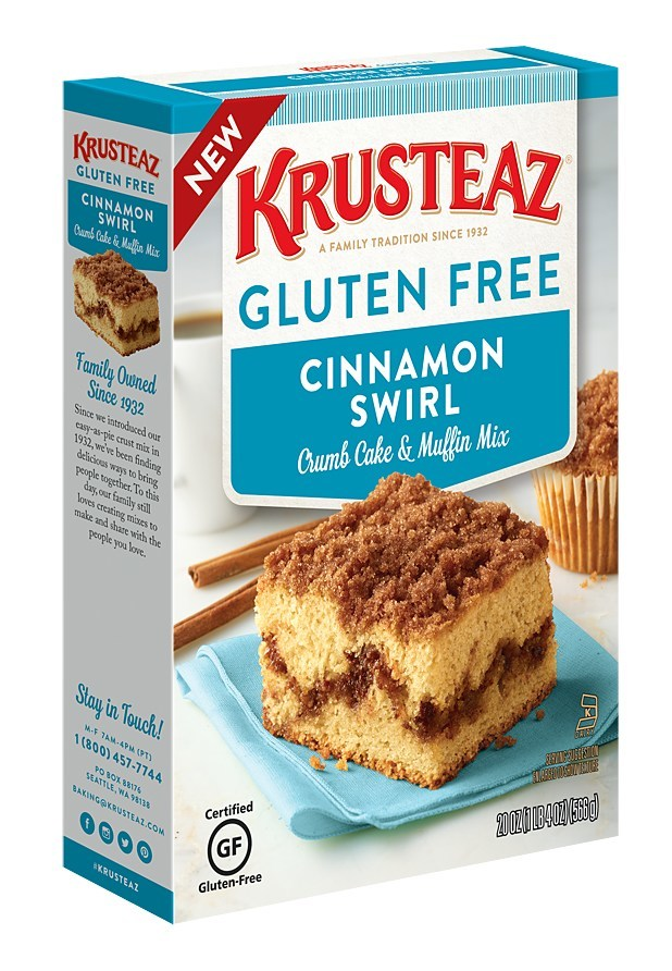 Krusteaz Expands Baking Mix Line To Include Gluten Free