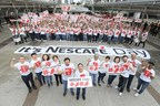 NESCAFÉ gives away 1 million cups of coffee in 4 countries (PRNewsfoto/NESCAFE)