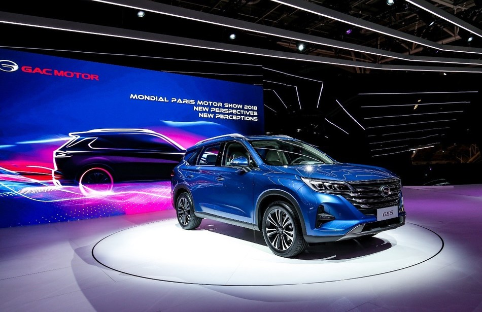 The debut of the all-new GAC Motor's GS5 SUV