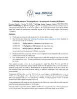 Wallbridge intersects 74.90 g/t gold over 5.66 metres at its Fenelon Gold Property (CNW Group/Wallbridge Mining Company Limited)