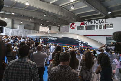 First Look at HyperloopTT's Passenger Capsule