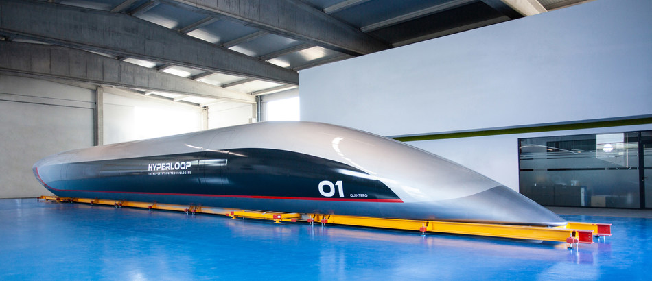 HyperloopTT unveils the world's first passenger Hyperloop capsule