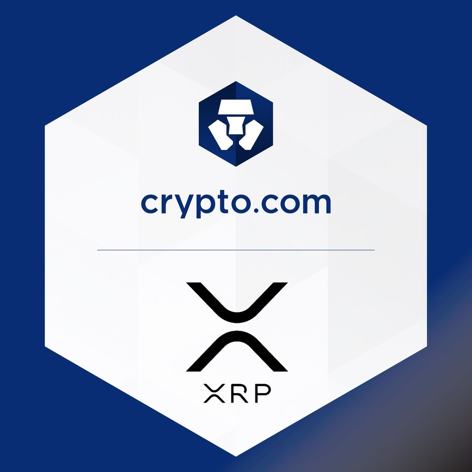 Ripple's XRP Added to Crypto.com's Wallet and Card App (PRNewsfoto/Crypto.com)