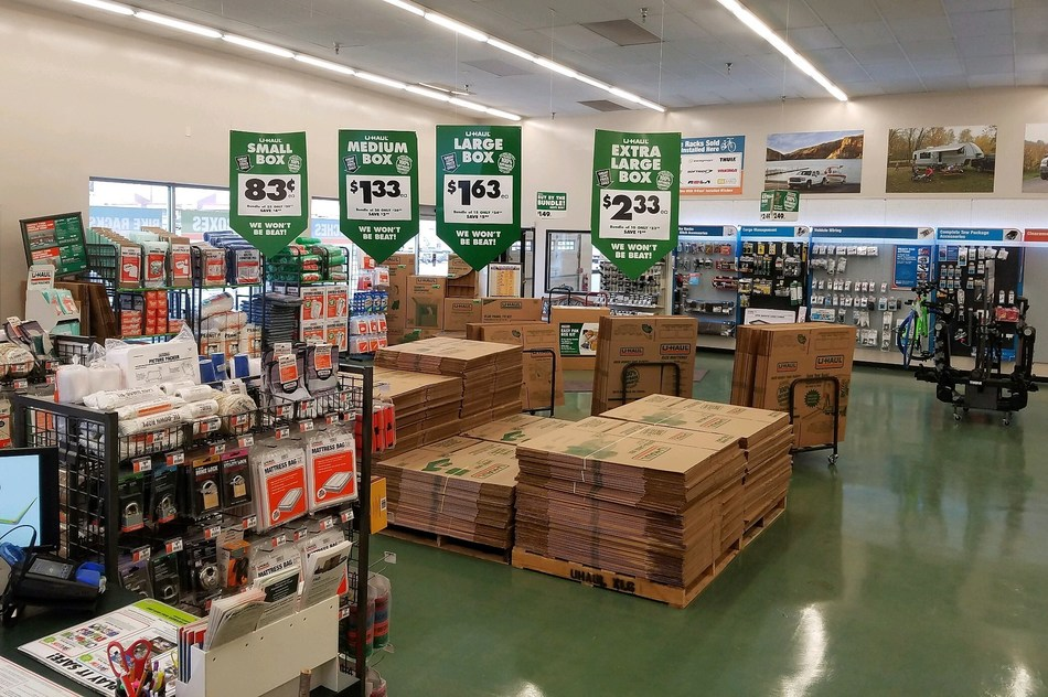 U-Haul Moving & Storage of Morningside has opened its spacious new retail showroom in Muncie, Ind. There will soon be more than 700 self-storage rooms for rent in the former Kmart building.
