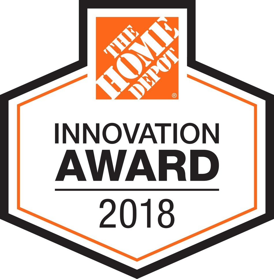 The Home Depot has introduced an official Innovation Award seal that will appear in-store and online for best-in-class products