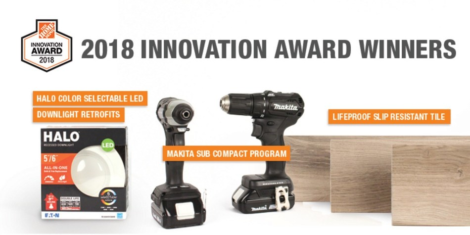 The Home Depot announces 2018 Innovation Award winners
