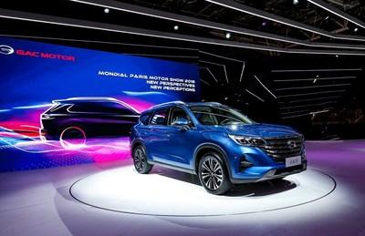 A estreia do novíssimo SUV GS5 da GAC Motor (PRNewsfoto/GAC Motor)