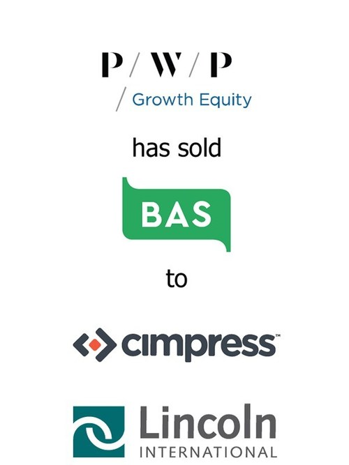 Lincoln International represents PWP Growth Equity in its sale of BuildASign to Cimpress N.V.