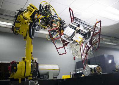 Raytheon is producing small satellites on its advanced, automated missile production lines.
