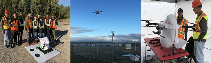 DDC Operations at Moosonee and Moose Factory, ON (CNW Group/Drone Delivery Canada)