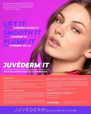 #2: JUVÉDERM® It Print Ad Single Page