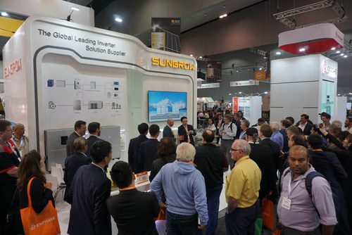Sungrow Booth at All Energy Australia