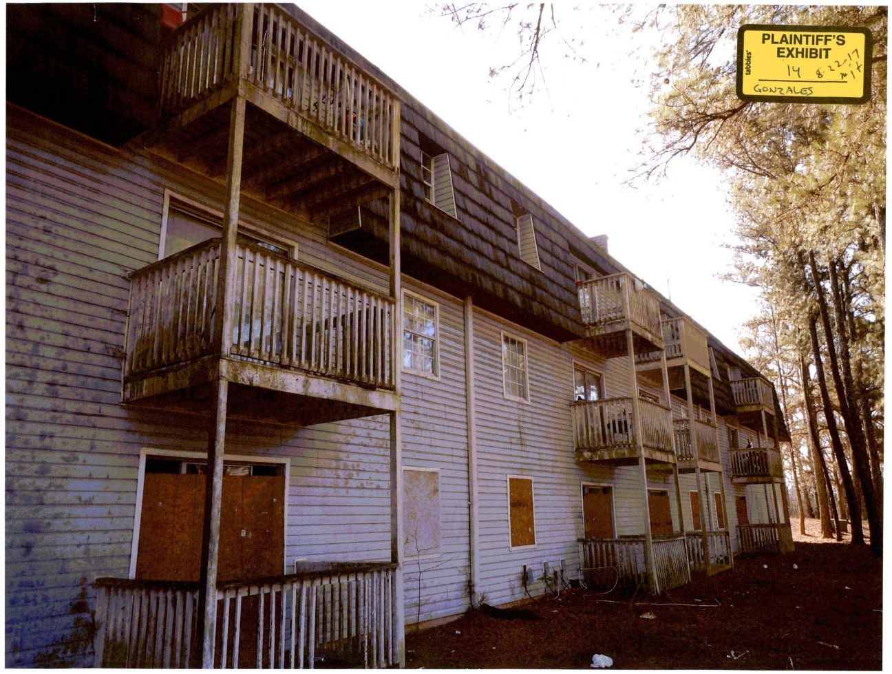 The owners of this Atlanta, Georgia apartment complex failed to provide basic security for their tenants.