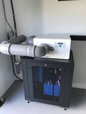WATT Imperium Fuel Cell System Installed in a Residential Home