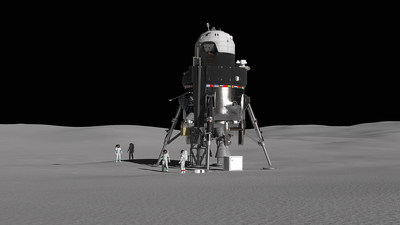 Lockheed Martin's crewed lunar lander concept shows how to send astronauts to the surface of the Moon for sustainable exploration.