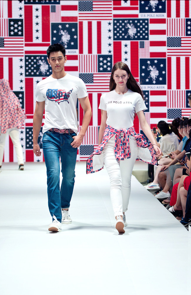 U.S. Polo Assn. Fashion Show (PRNewsfoto/USPA Global Licensing Inc.)