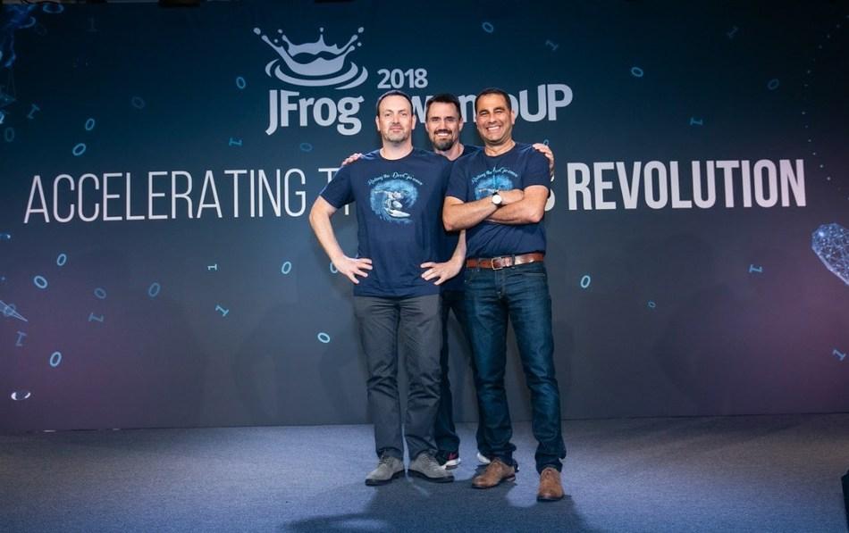 JFrog Secures $165 Million Investment to Lead Universal Devops in the Enterprise (PRNewsfoto/JFrog)