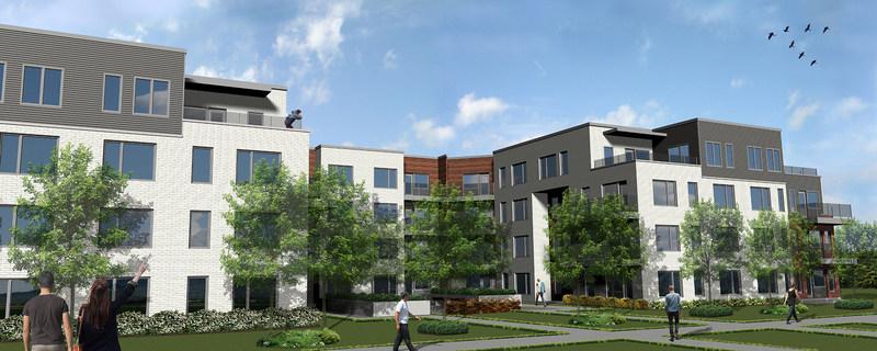 Habitations Trigone and Fonds immobilier de solidarité FTQ Break Ground on Viva-Cité Espace Nature (CNW Group/Fonds de solidarité FTQ)