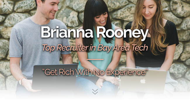The Millionaire Recruiter e-Course team: Ben Markowitz, Brianna Rooney and Emily Stellick