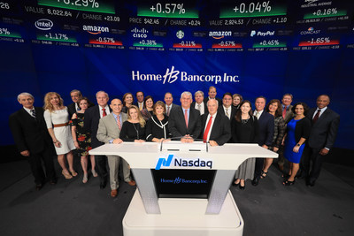 Home Bancorp Celebrates Its 10th Year As A Public Company By Ringing The Nasdaq Closing Bell