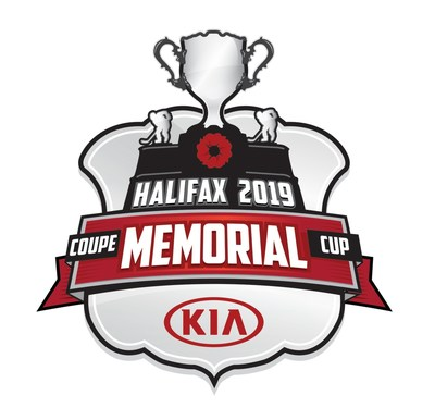 Kia Canada announces new partnership with the Canadian Hockey League and unveils new 2019 Memorial Cup logo. (CNW Group/Kia Canada Inc.)