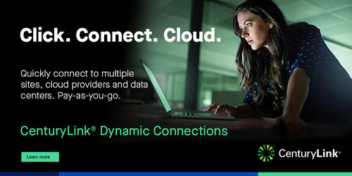 CenturyLink Cloud Connect Dynamic Connections enables on-demand connectivity to cloud and data center environments across the globe