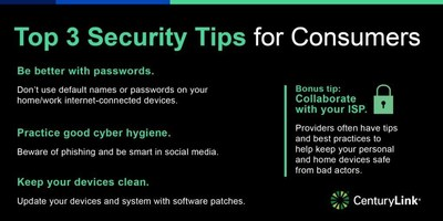 CenturyLink' tips for online safety