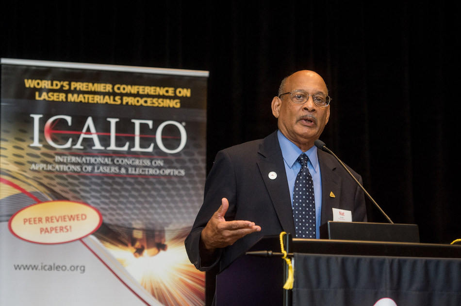 LIA's Executive Director, Dr. Nathaniel Quick, opening for last year's ICALEO conference. LIA and ICALEO 2018 will focus on photonics materials processing and innovation, in line with the major growth in this sector.