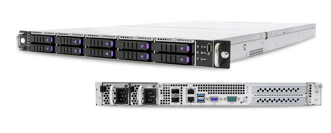 AIC SB122A-PH 1U 10-Bay NVMe Storage Server