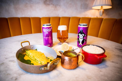 Bira 91's IPA sits alongside a specially created curry dish as part of International Curry Week running from October 12-28 across three countries (photo credit: Tom Graney)